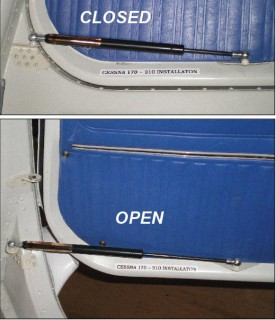 (Click image for a larger view) & DOOR STEWARD CESSNA LEFT u0026 RIGHT HAND CABIN DOORS from Aircraft Spruce