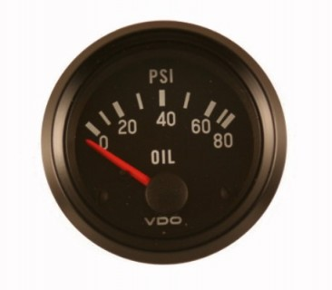 Vdo 2 inch oil pressure gauge with sender from aircraft spruce click image for a larger view altavistaventures Images