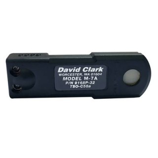 DAVID CLARK ELECTRET MIC M - 7A from Aircraft Spruce