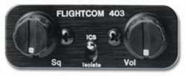 11 07871 flightcom 403lsa intercom from aircraft spruce softcomm intercom wiring diagram at bayanpartner.co