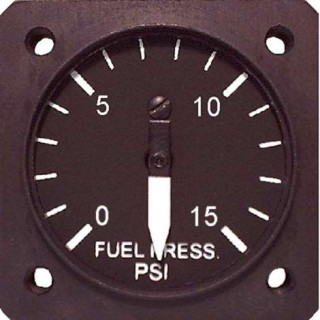 Uma 1 14 electronic fuel pressure gauge tso from aircraft spruce click image for a larger view altavistaventures Images