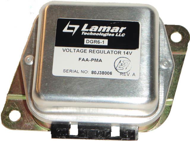 lamar voltage regulator 14v dgr6 1 from aircraft spruce close