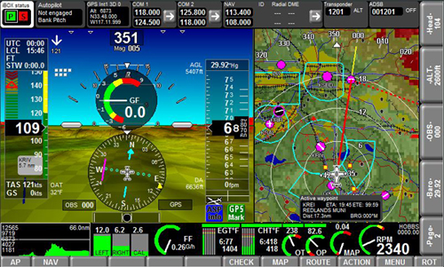 MGL iEFIS CHALLENGER 10.4 INCH TOUCHSCREEN from Aircraft Spruce