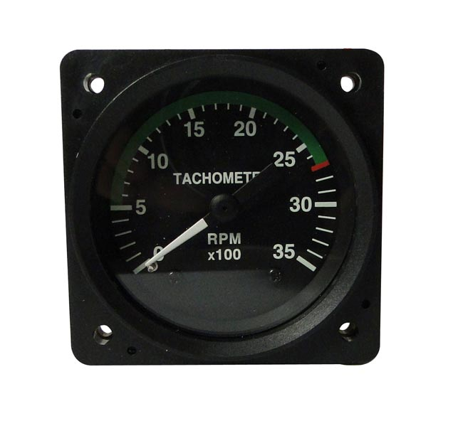 ISS 214 ENGINE TACHOMETER GAUGE from Aircraft Spruce – Rpm On Vdo Gauge Wiring Diagram Magneto