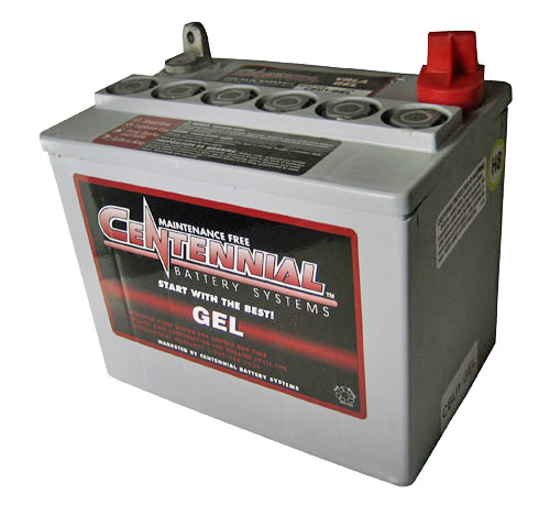 Centennial Gel 12 Volt Battery. • Maintenance-free operation