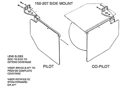 CESSNA150_B rosen sun visor systems from aircraft spruce 2008 Honda Accord Schematic at crackthecode.co