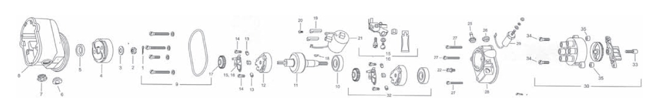 slickmagneto6300 6300 service parts list from aircraft spruce slick magneto wiring diagram at bakdesigns.co