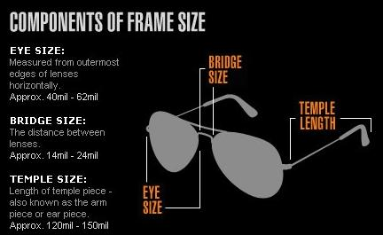 How To Read Eyeglass Frame Size : It is personal preference. You can see in the
