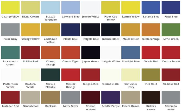Cessna Paint Colors