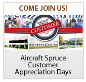 Aircraft Spruce Customer Appreciation Days