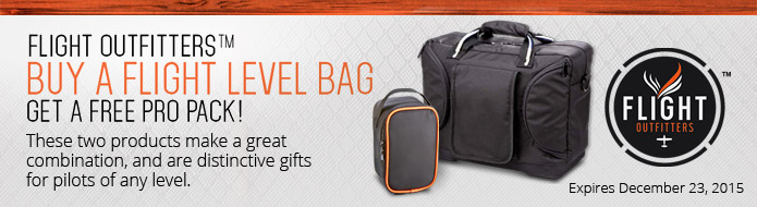 Buy A Flight Level Bag Get A FREE Pro Pack!