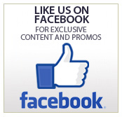Like Us On Facebook  For Exclusive content and promos