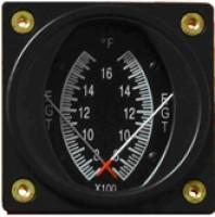 SWIFT GAUGE 2-1/4 WATER TEMPERATURE GAUGE | Aircraft Spruce