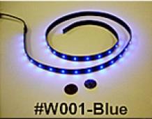 FLEXIBLE LED INSTRUMENT LIGHTS - SINGLE COLOR -24V RED