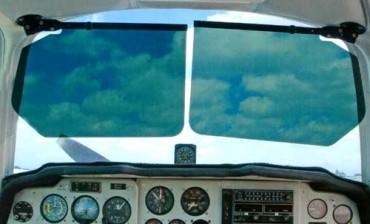 BONANZA BARON ADJUSTABLE SUN VISORS from Aircraft Spruce c972c43044e