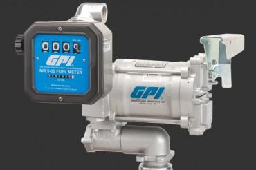 GPI AVIATION REFUELING COMBO PUMP/METER , M-3120-AV-PO / MR 5-30-G8N