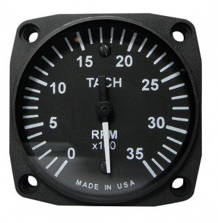 UMA 2-1/4 ELECTRIC TACHOMETER 0-3500 RPM from Aircraft Spruce on nova wiring harness, isis wiring harness, mercedes wiring harness,