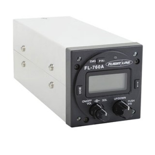 FLIGHTLINE 760A PANEL MOUNT COM RADIO from Aircraft Spruce on