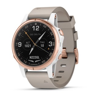 ea436052d GARMIN D2 S DELTA AVIATOR WATCH 42MM SAPPHIRE WHITE GOLD from ...