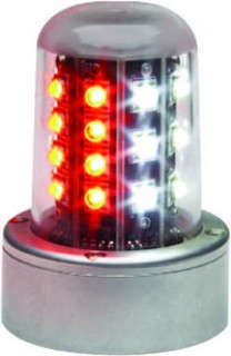 whelen led flashing beacon (red \u0026 white) 90520 series from aircraftsee below for parts, pricing, and ordering