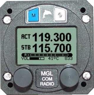 mgl v6 vhf aviation radio transceiver from aircraft spruce rh m aircraftspruce com Aircraft Transponder Frequencies Aircraft Transponder Operation