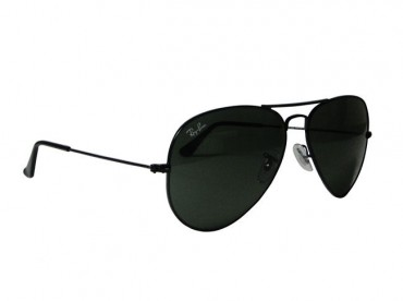 53502f1887 RAY-BAN AVIATOR BLACK G-15XLT 58MM from Aircraft Spruce