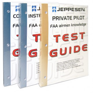 d0e7fb8d738 JEPPESEN PRIVATE PILOT AIRMEN KNOWLEDGE TEST GUIDE from Aircraft Spruce