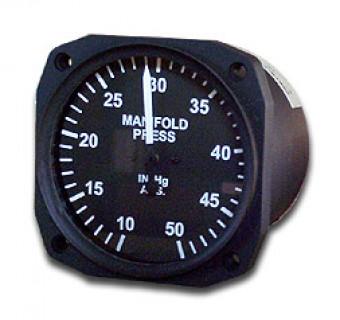 Uma manifold pressure gauge 3 18 inch 10 50 hg from aircraft spruce click image for a larger view altavistaventures Images