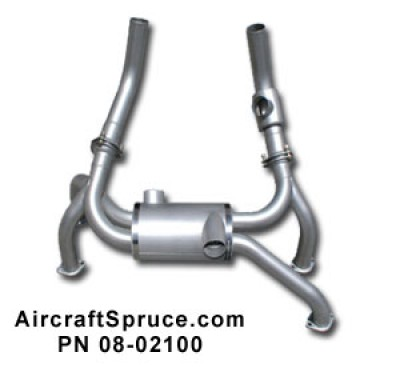EXPERIMENTAL SUPER CUB CROSSOVER EXHAUST SYSTEM