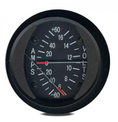 SWIFT GAUGE 2 INCH ROUND AMMETER +/-60A