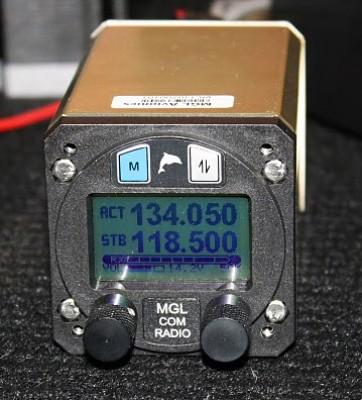 SW AVIONICS V6 VHF AVIATION RADIO TRANSCEIVER