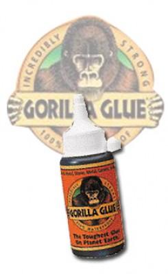 GORILLA GLUE - TOUGHEST GLUE ON EARTH