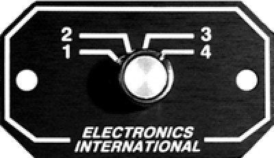 ELECTRONICS INTERNATIONAL REMOTE SWITCHES RS-4-1S & RS-4-2S on