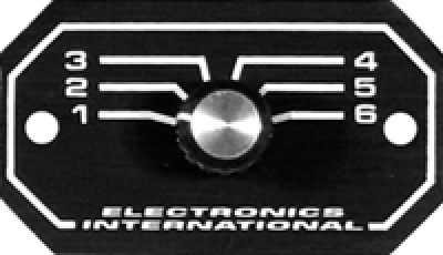 ELECTRONICS INTERNATIONAL REMOTE SWITCHES RS-6-1S & RS-6-2S on