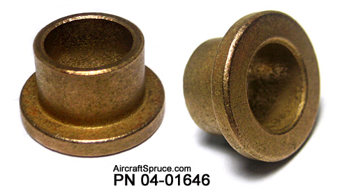 Oilite Bronze Flanged Bushings Aircraft Spruce