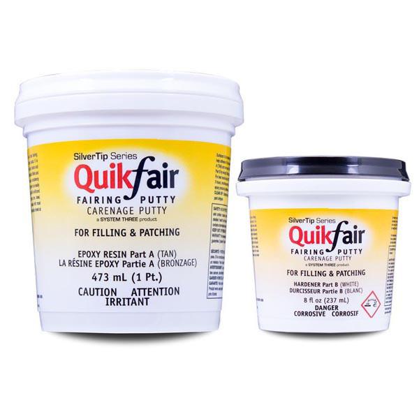 QUIKFAIR EPOXY PUTTY 1 5 QT