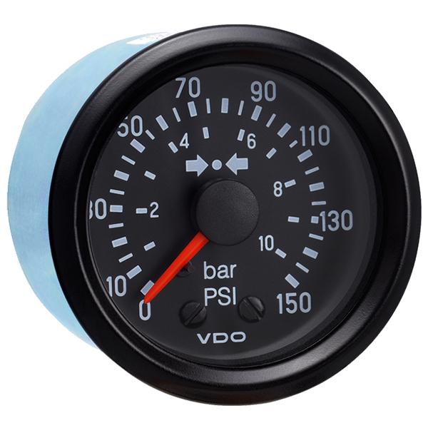 VDO 150 PSI MECHANICAL AIR PRESSURE GAUGE