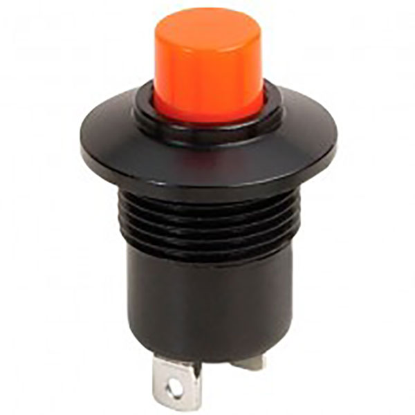 P9M-211121 Otto Latching On-Off Sealed Push Button Switch,Raised Red Button