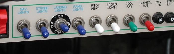 STANDARD TOGGLE SWITCH COVERS