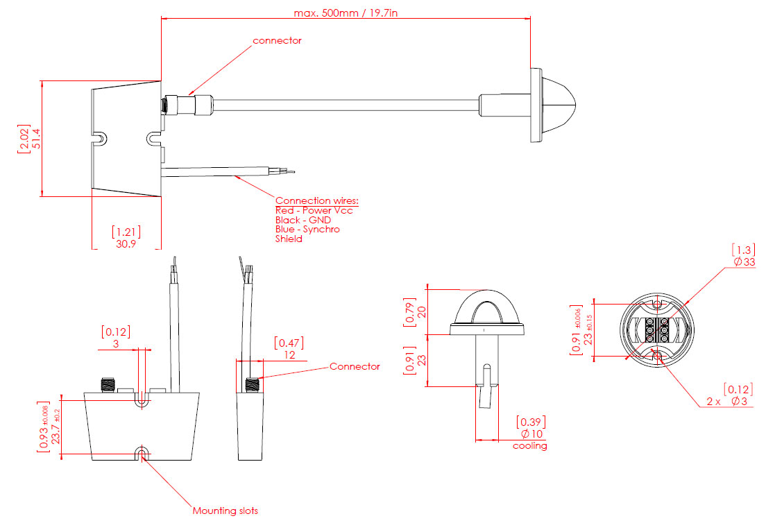 Aircraft Strobe Wiring Electrical Diagrams 12v Light Diagram Aeroflash Explore Schematic Solar Powered Red