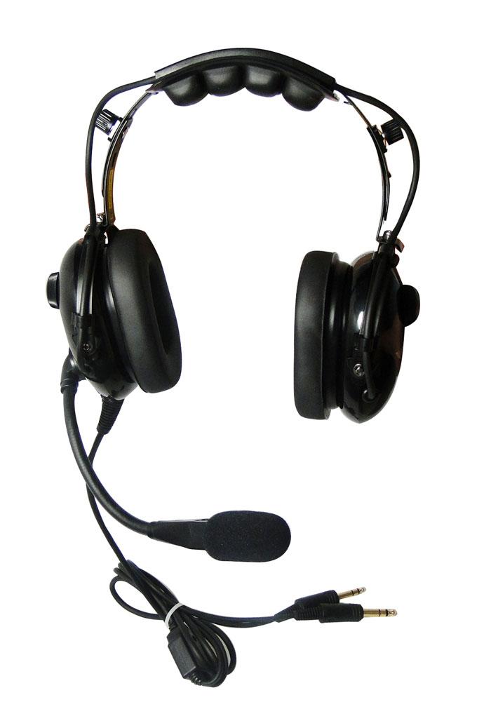 ASA-HS-1-MUFF Pilot Headset Part ASA AirClassics Microphone Muff with O-Ring