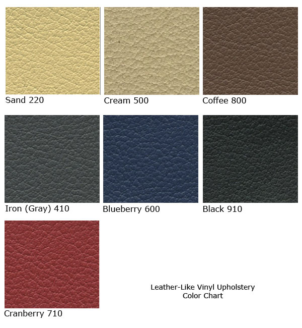 "Faux Leather Fabric Leather Vinyl Upholstery Swatch 4/"" x 4/"""