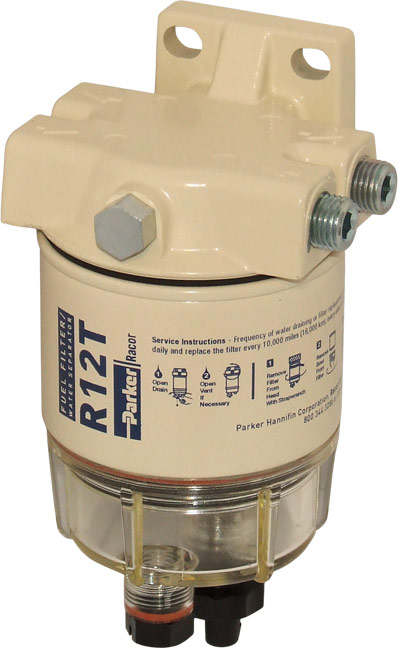 RACOR FUEL FILTER / WATER SEPARATOR 120AT | Aircraft SpruceAircraft Spruce
