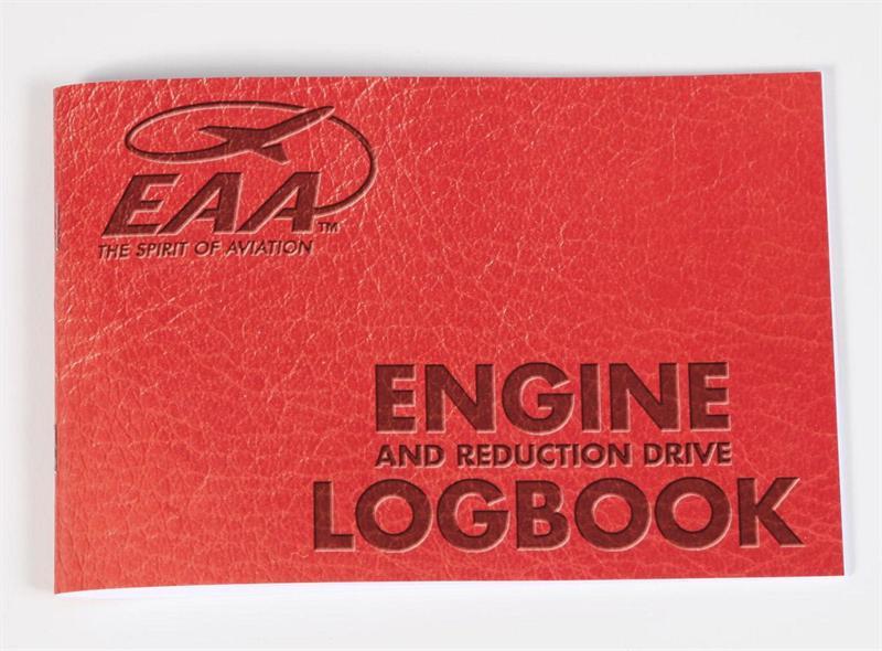 ASA Engine Logbook ASA-SE-1 Burgundy Softcover