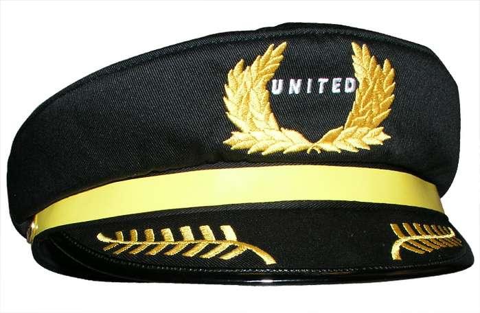 United Airlines Usa Children S Captains Pilot Hat
