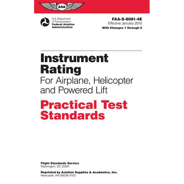 ASA Practical Test Standards IFR