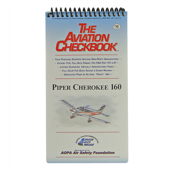 CHECKBOOK CHEROKEE 160 VOL I
