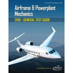 E-BOOK AIRFRAME & POWERPLANT MECH GENERAL TEST GUIDE