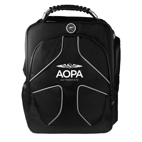 AOPA MGF IPAD FLIGHT BAG PLC PRO