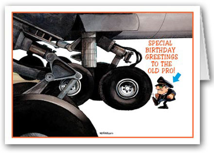 BIRTHDAY CARD From Aircraft Spruce